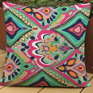 Lilly Pulitzer Crown Jewels Accent Throw Pillow